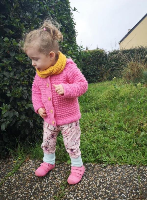 sarouel évolutif pour bébé enfant oeko-tex jersey