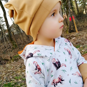 Bonnet slouchy en bord-côté bébé enfant