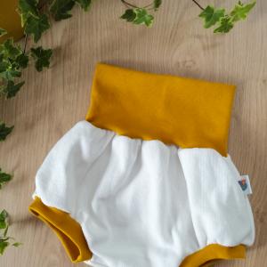 short évolutif jersey maille coton oeko-tex gots enfant bébé jersey