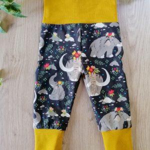 legging pantalon évolutif colorés coton mammouth maman bébé oeko-tex bébé enfant